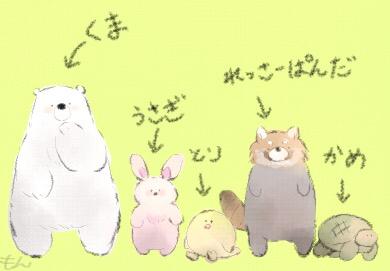 色々な動物